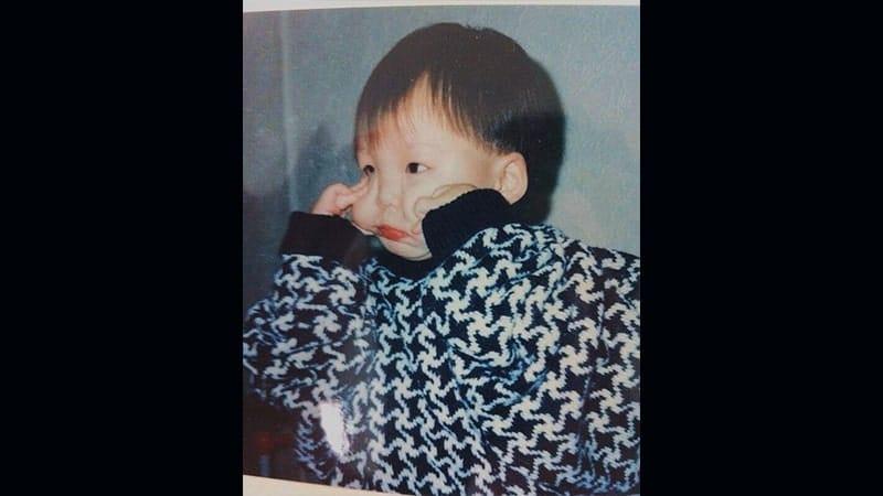 Profil Kim Woo BIn - Foto Masa Kecil