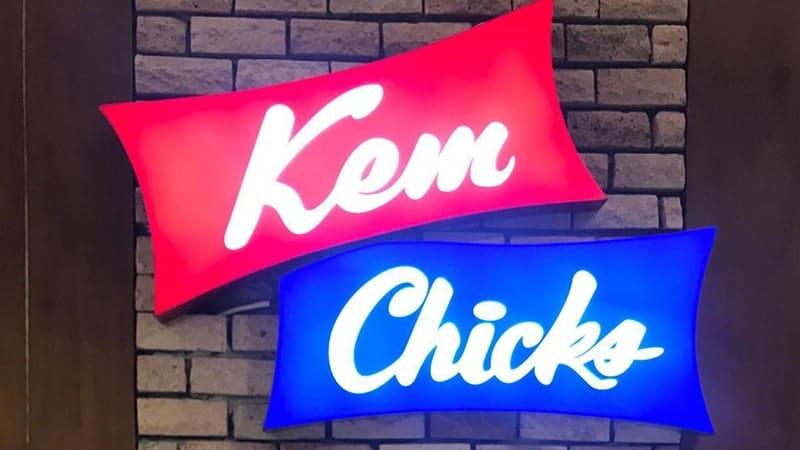 Biografi Bob Sadino - Logo Kem Chicks