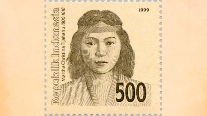 Biografi Martha Christina Tiahahu - Prangko