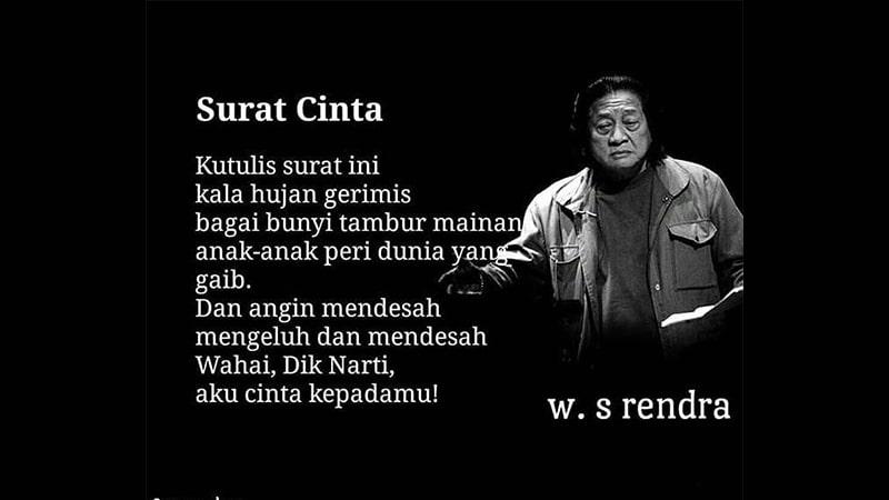 Puisi Cinta Rendra
