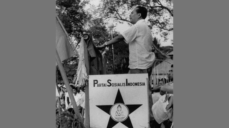Biografi Sutan Syahrir - Pidato untuk PSI di Bali