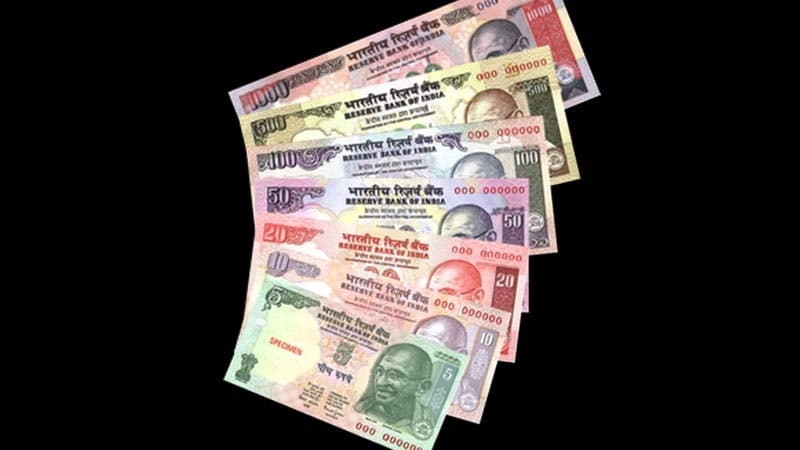Seri uang Gandhi
