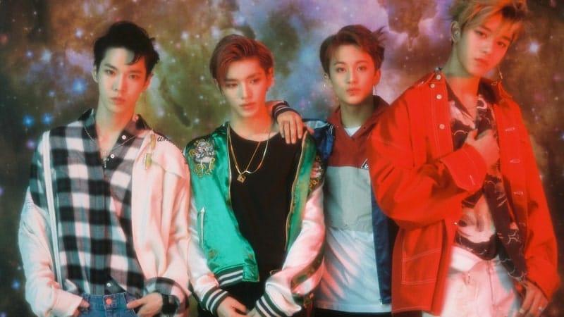Doyoung, Taeyong, Mark, Lucas - Yestoday