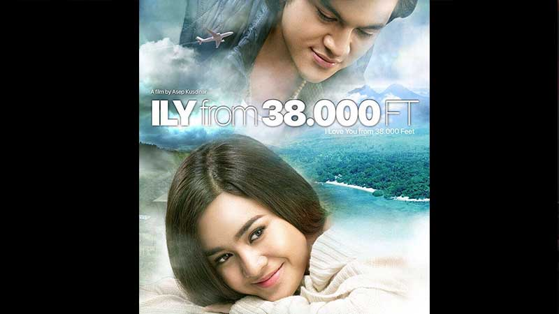 Poster Film ILY From 38.000 FT