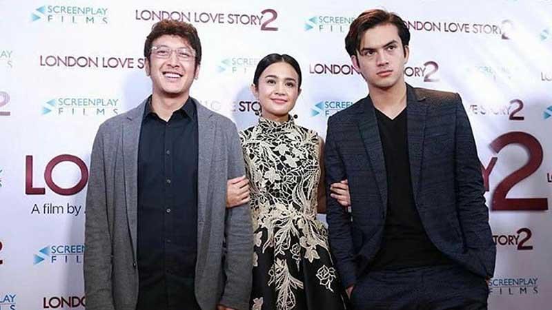 Biodata Lengkap Rizky Nazar - Bersama Pemain London Love Story 2