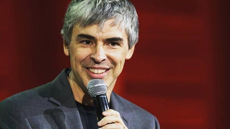 Biografi Larry Page - Larry Page