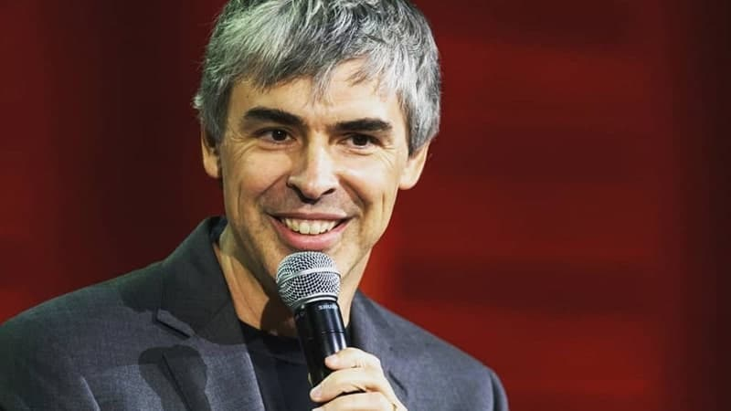 Biografi Larry Page - Larry Page