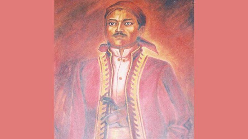 Biografi Pangeran Antasari - Lukisan