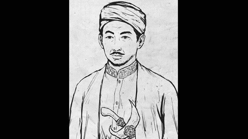 Biografi Raden Patah - Gambar Jin Bun