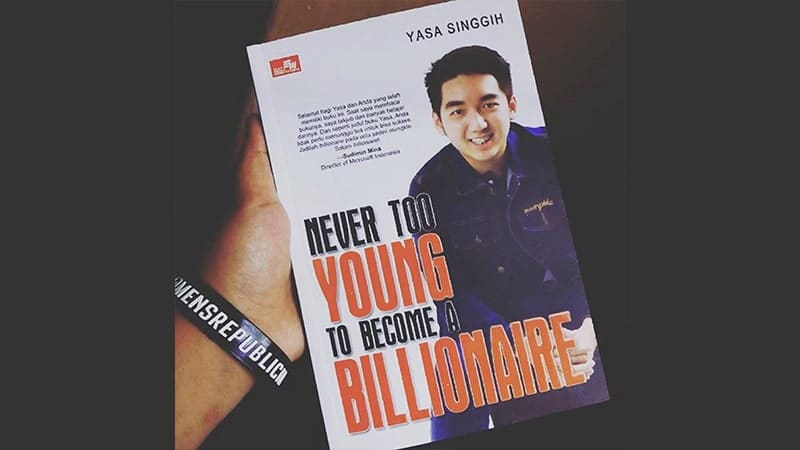 Buku Never Too Young To Become Millionaire