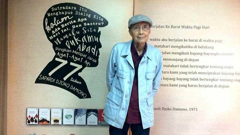 Biografi Sapardi Djoko Damono - SDD dan Karyanya