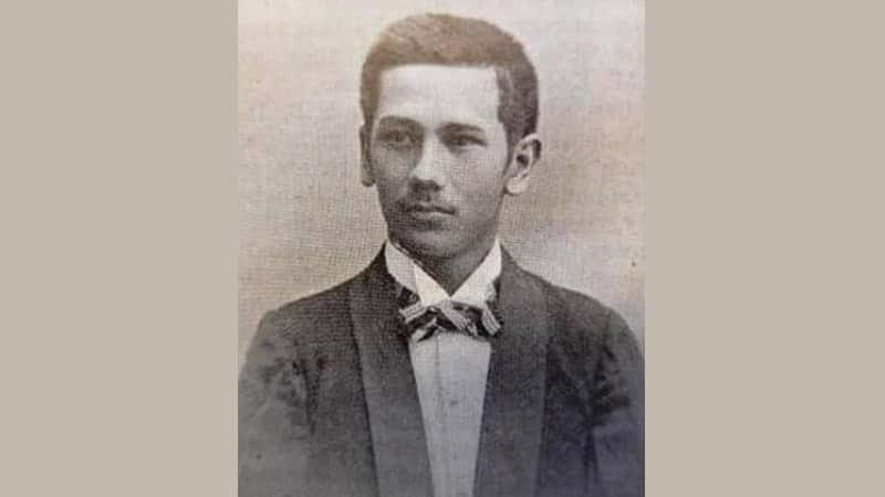Biografi KH Agus Salim - Foto Masa Muda