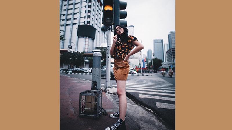 Instagram Amanda Manopo - Amanda di Lampu Merah