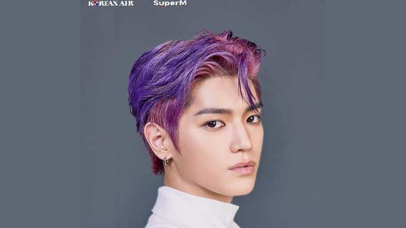 Foto Taeyong NCT - Proyek Super M feat Korean Air