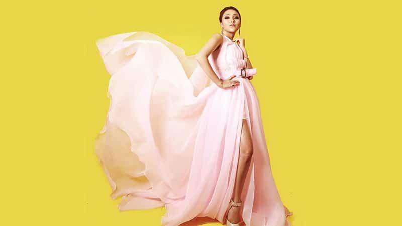 Foto-Foto Ayu Ting Ting - Dress Pink