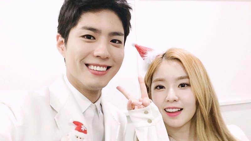 Foto Park Bo Gum dan Irene Red Velvet