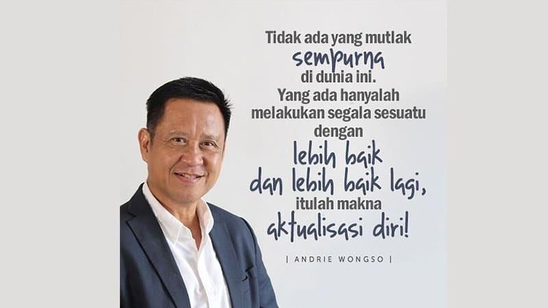 Kutipan Andrie Wongso