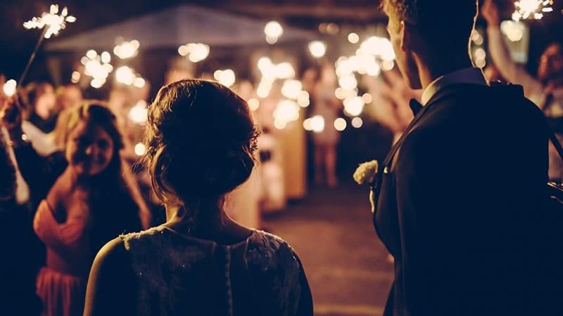 Ucapan Selamat untuk Pernikahan - Pernikahan Malam Hari