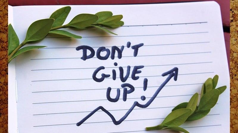 Kata-Kata Sabar dalam Menghadapi Masalah - Jangan Menyerah