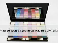 Review Lengkap 3 Eyeshadow Madame Gie Terlaris