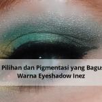 Banyak Pilihan dan Pigmentasi yang Bagus, Inilah Warna Eyeshadow Inez
