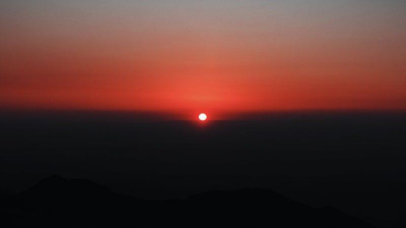 Kata-Kata Pejuang Sholat Subuh - Matahari Terbit