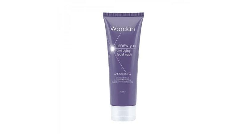 Gambar 3. Wardah Renew You Anti Aging Facial Wash