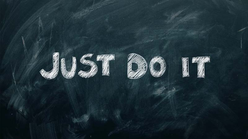 Kata-Kata Zona Nyaman - Just Do It
